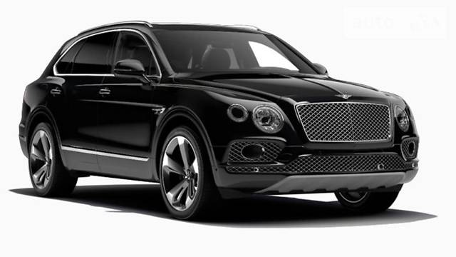 Bentley Bentayga 2015 model