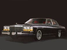 Cadillac Fleetwood Brougham 1977 model