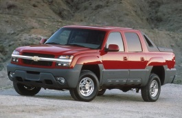 Chevrolet Avalanche 2500 2002 model