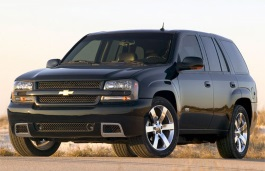 Chevrolet TrailBlazer 2002 model