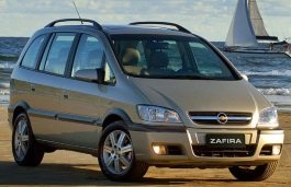 Chevrolet Zafira 2001 model
