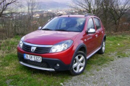Dacia Sandero Stepway 2009 model