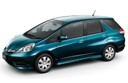 Honda Fit Shuttle 2011 model
