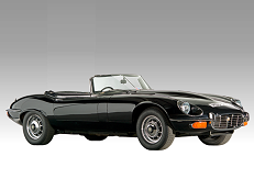 Jaguar E-Type 1961 model