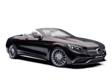 Mercedes-Benz S-Class Cabrio AMG 2015 model