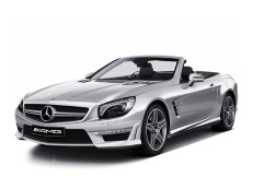 Mercedes-Benz SL-Class AMG 2001 model