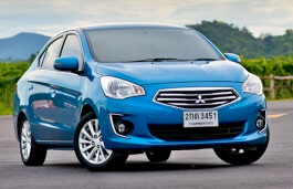 Mitsubishi Mirage G4 2013 model
