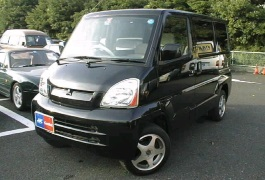Mitsubishi Town Box Wide 1999 model