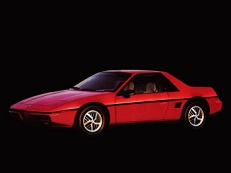 Pontiac Fiero 1984 model