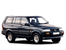 SsangYong Musso 1993 model