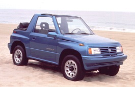 Suzuki Sidekick 1989 model