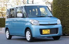 Suzuki Spacia 2013 model