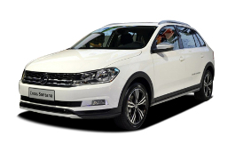 Volkswagen Cross Santana 2016 model