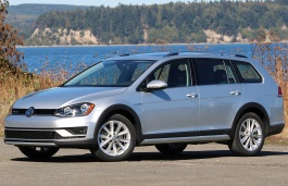 Volkswagen Golf Alltrack 2015 model